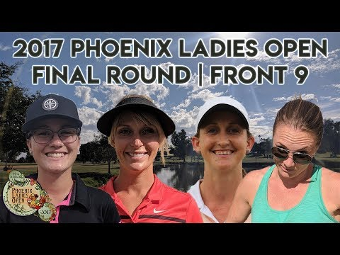 2017 Phoenix Ladies Open - Final Rnd - Sarah Hokom, Cat Allen, Vanessa Van De Venter, Kona Panis