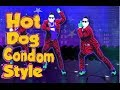 Just dance Hot Dog Condom Style (Bart Baker ft PSY) +lyrics