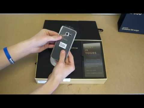 Samsung Galaxy S6 Edge 128gb Gold Platinum Limited Edition Unboxing!!!