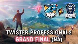 Professionals Tournament - GRAND FINALS - [PRAMO] Vs [RGN] - Twister 2019 (NA)