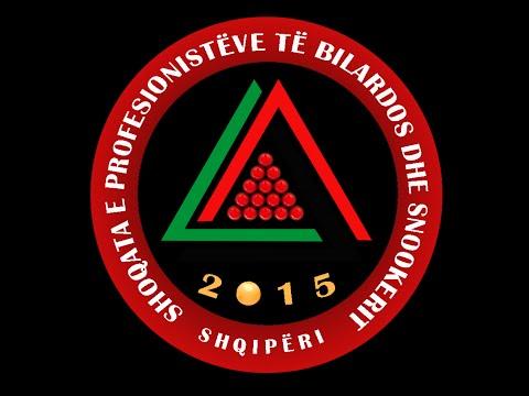 Snooker Albania 2015 Finalja e Kupes Land Rover ( Tirana Auto ) Ermal Dyli vs Edlir Kurt'hysa