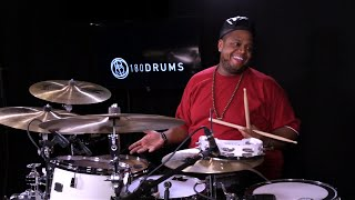 Stanley Randolph - Funky Groove [180 DRUM LESSON CLIP]
