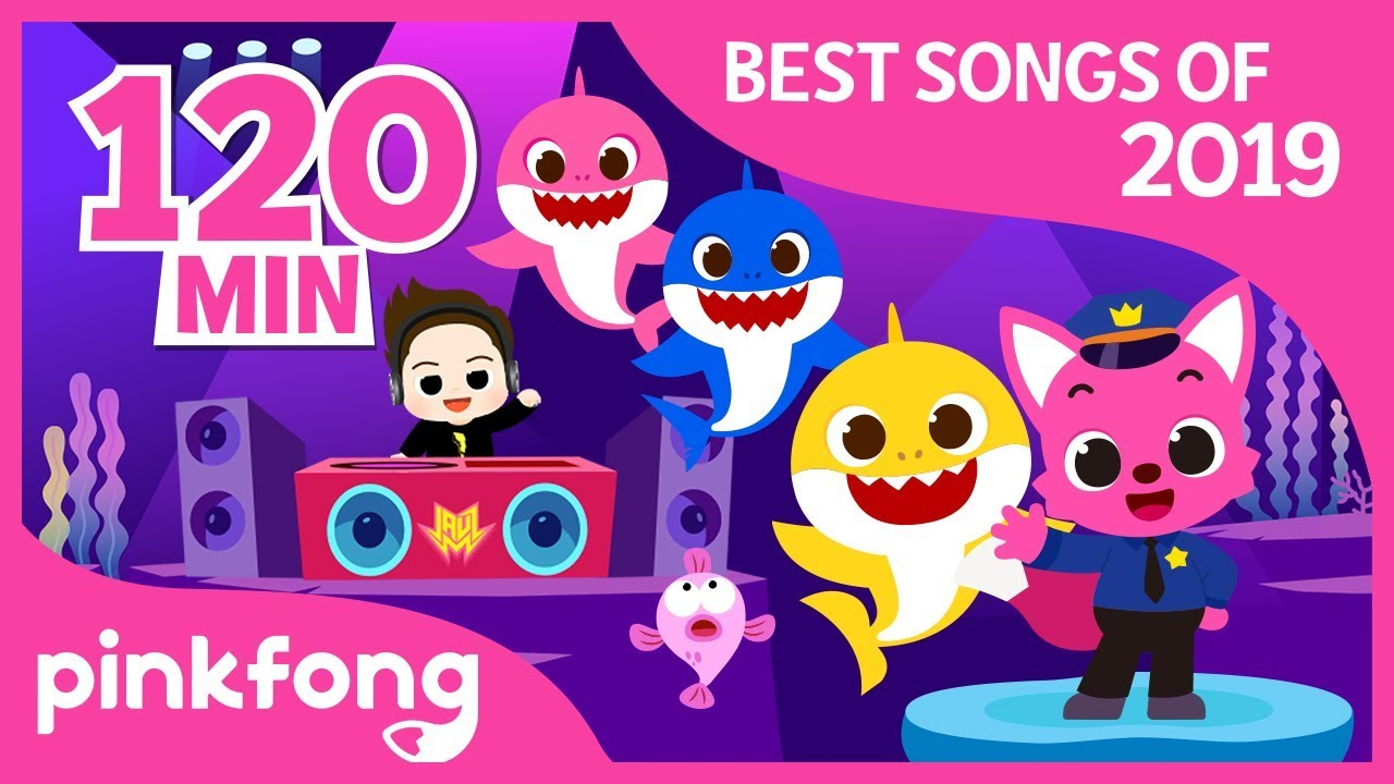 Baby Shark Dance and more | Best of 2019 | +Compilation | Pinkfong! Songs for Children