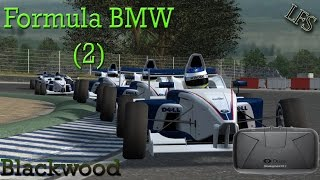 Live For Speed - Oculus Rift DK2 - Formula BMW Blackwood (Multiplayer) - Part 2