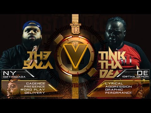 TH3 SAGA VS TINK DA DEMON SMACK/ URL RAP BATTLE