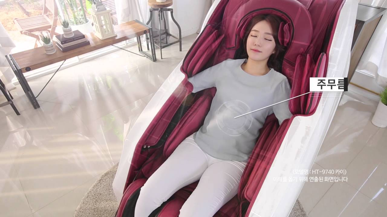 KOREA famous Massage Chair HUTECH KAI  Info  YouTube
