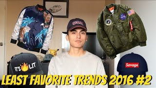 My Least Favorite Streetwear/Hypebeast Trends 2016 PART 2