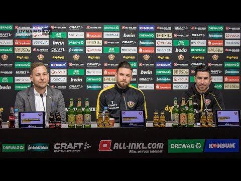 21. Spieltag | HSV - SGD | Pressekonferenz vor dem Spiel