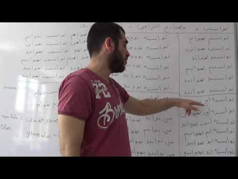 Fars dili. 43-cü dərs. Feilin bacarıq şəkli. thumbnail
