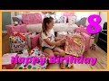 HAPPY BIRTHDAY - MAISIE OPENING PRESENTS