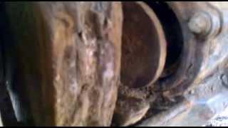 Снятие задних колодок камаз 4308 (2)