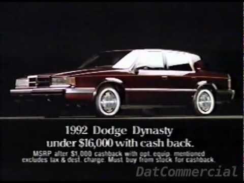 Petes Auto Sales >> Dodge Dynasty - Videos