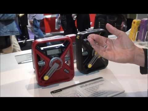 Tech for preppers: Eton hand cranked emergency radio & light combos