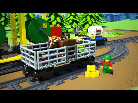 Cargo Train - LEGO City - 60052
