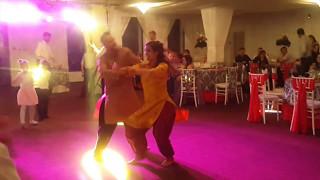 Denisa & Dennis Bhangra Show at Romanian Wedding - Ed Sheeran / Shape of you