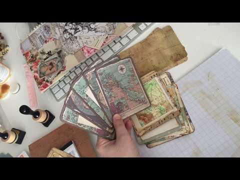 Journal Kaarten, schrijf/foto kaarten als decoratie