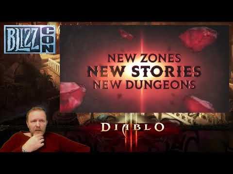 """Новости  от 03.11.18 BlizzСon 2018, Diablo Immortal . """"А у Вас что нет телефона?""""."""
