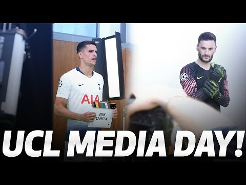 BEHIND THE SCENES | UEFA CHAMPIONS LEAGUE FINAL MEDIA DAY!