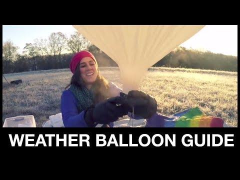 The Ultimate Weather Balloon Guide to Sending Anything to Near-Space