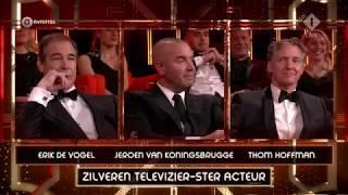 Jeroen van Koningsbrugge wint de Zilveren Televizier-Ster Acteur | Gouden Televizier-Ring Gala 2017