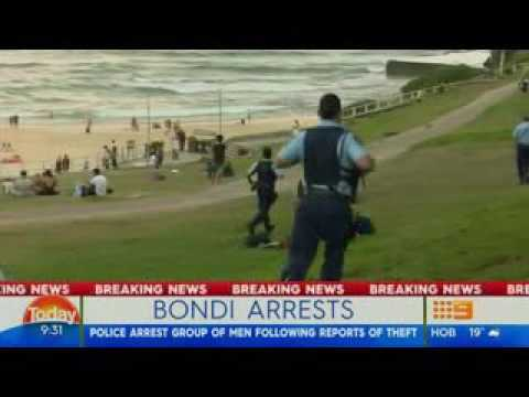 Africans Rob NYE Revellers at Iconic Bondi Beach