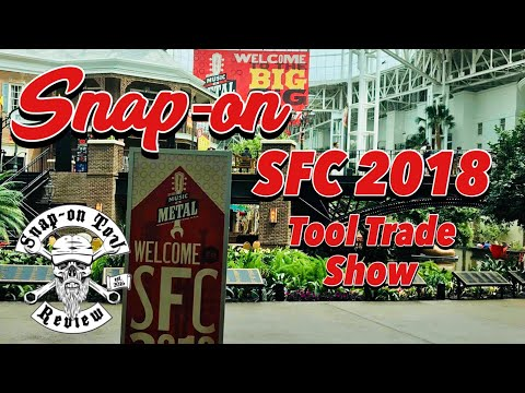 Snapons Annual Tool Show!  A Ton Of New Tools!