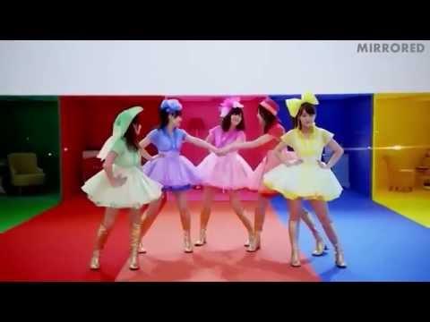 ℃-ute『世界一HAPPYな女の子』(Dance Shot ver.)(Mirrored)(Normal Speed)