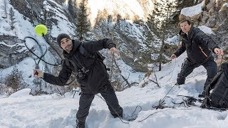 Roger Federer Is Running Wild With Bear Grylls