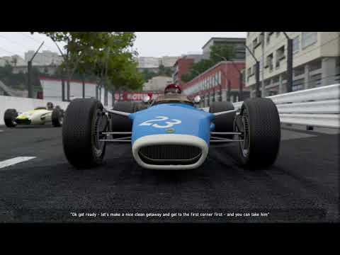 pCars 2 Vintage F1 Lotus 49 at Monaco