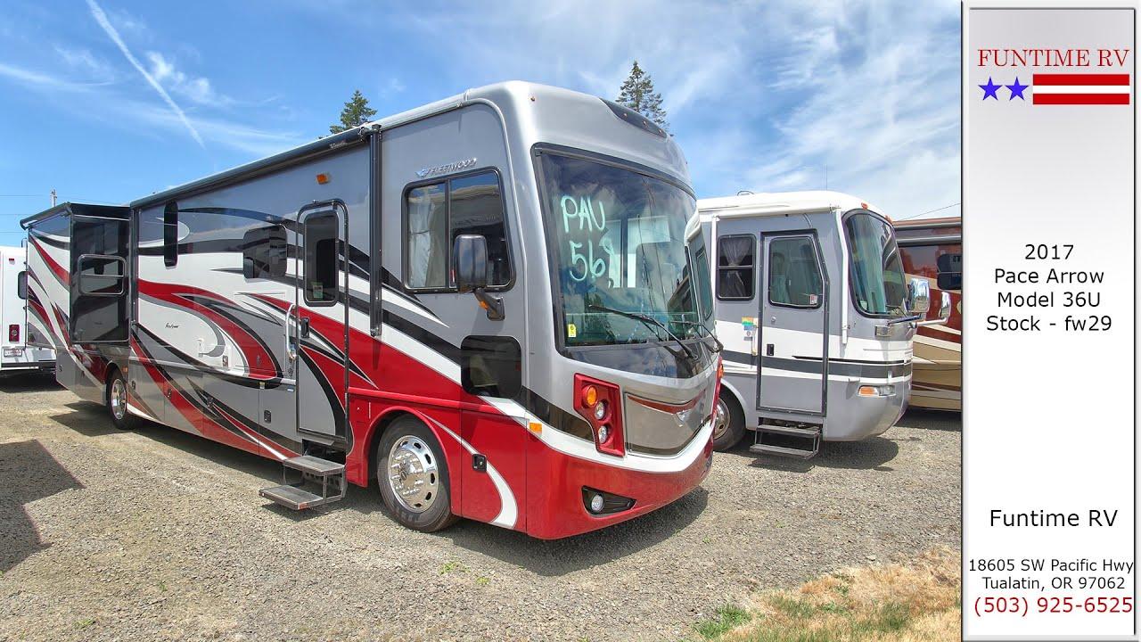 2017 Fleetwood Pace Arrow Class A Motorhome For Sale near Portland, Oregon