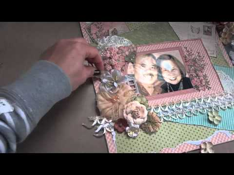 """""""Once in a Lifetime"""" 12x12 Scrapbook Layout & Tutorial"""