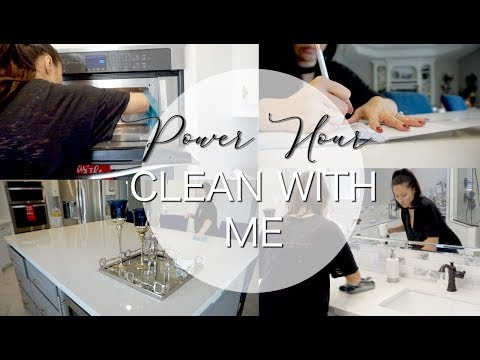 clean-with-me-||-power-hour-||-vlogmas-day-14