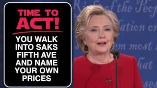 debate night a bad lip reading of the first 2016 presidential debate