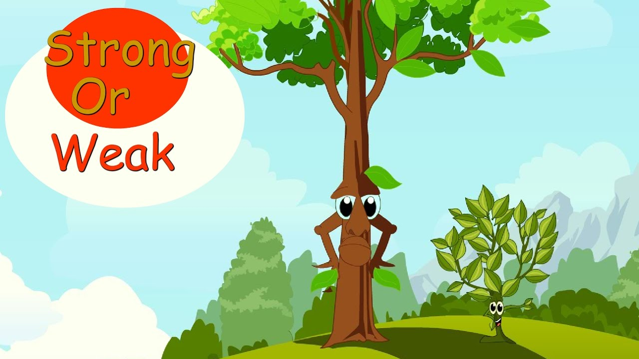Strong or Weak - English | Short Stories for kids | Toonzee TV