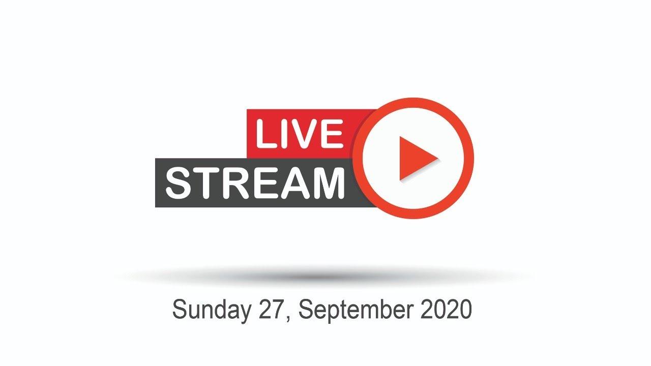 Sunday Online Service | 27 September 2020