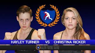 VFC 54: Hayley Turner vs Christina Ricker Catchweight 130