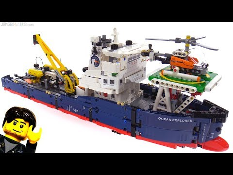 LEGO Technic Ocean Explorer review! 42064