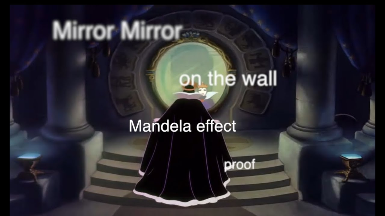 Mirror Mirror On The Wall mandela effect proof* mirror ,mirror on the wall * magic mirror