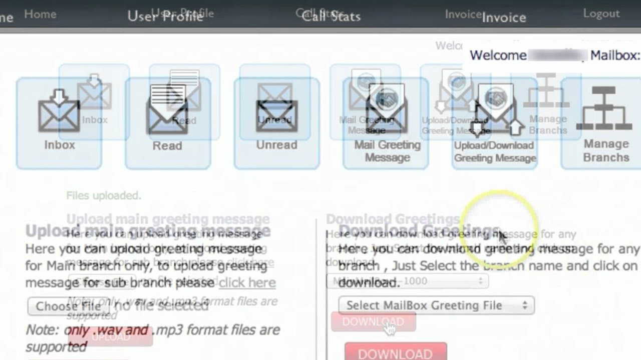 How To Upload Your Greeting Message Into Eagle Messaging Your Free