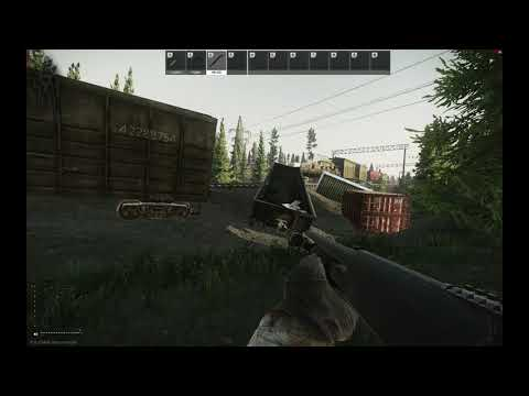 Passage Between Rocks Extraction Point Customs Map Escape From Tarkov Youtube