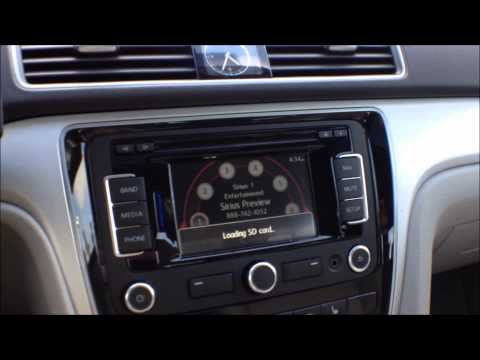 How to play music from an SD memory card in VW RNS315 Navigation Stereo