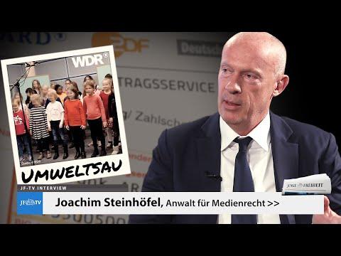 """Von Zwangsabgaben und """"orwellschen Zuständen"""" (JF-TV Interview mit Joachim Steinhöfel)"""