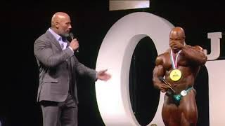 Video Phil Heath 2017 Mr. Olympia Victory Speech BY SHAHBAZ KHAN ARMWRESTLER download MP3, 3GP, MP4, WEBM, AVI, FLV Oktober 2017