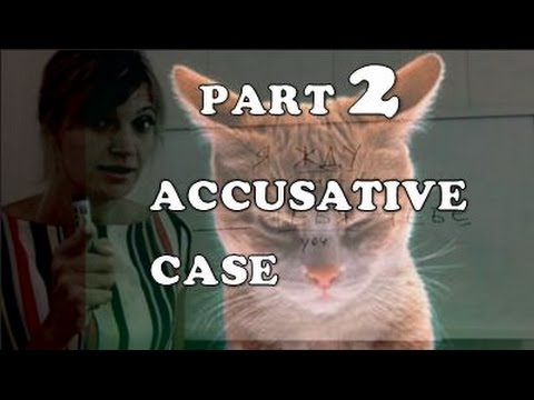 Russian cases - Accusative - part 2
