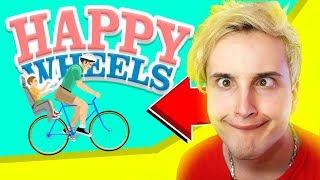 😲 Впервые за 6 лет играю в HAPPY WHEELS 🏃