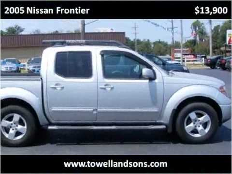 2005 Nissan Frontier Used Cars Manila AR