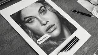 Drawing Barbara Palvin