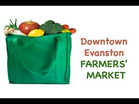 Downtown Evanston Farmers' Market 2014
