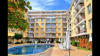 2-bed Apartment for sale by Cacao Beach in Sunny Beach - €31,200