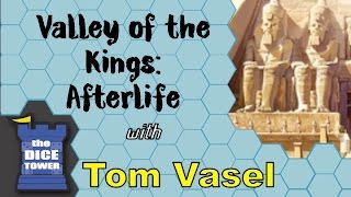 Valley of the Kings: Afterlife Review - with Tom Vasel